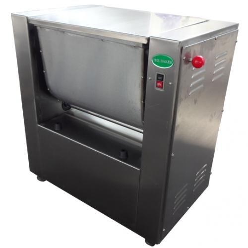 Baker Stainless Steel Flour Mixer 1.5kW, Mix:25kg, 95kg HWH-25SS