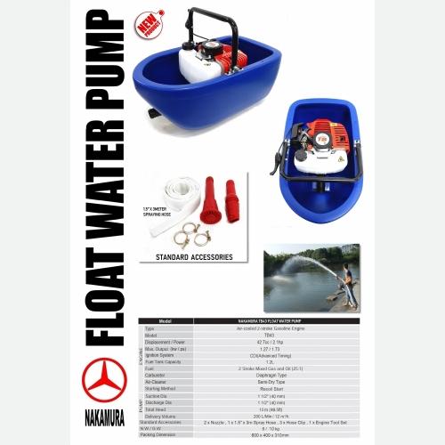 NAKAMURA TB43 FLOAT IRRIGATION WATER PUMP