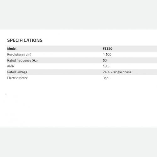 HISAKI FLOOR SCRAPPER FS320