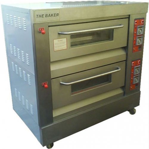 The Baker Gas Oven 2Layers, 4Trays, 200kg YXY-40