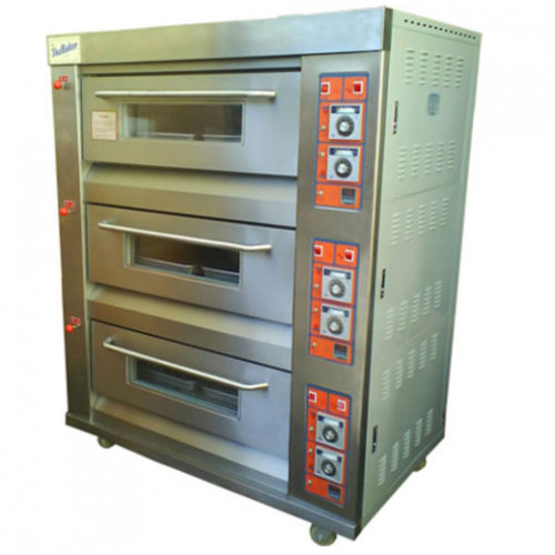 The Baker Gas Oven 3Layers, 6Trays, 365kg YXY-60