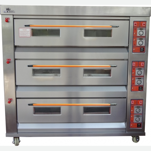 The Baker Gas Oven 3Layers, 9Trays, 340kg YXY-90
