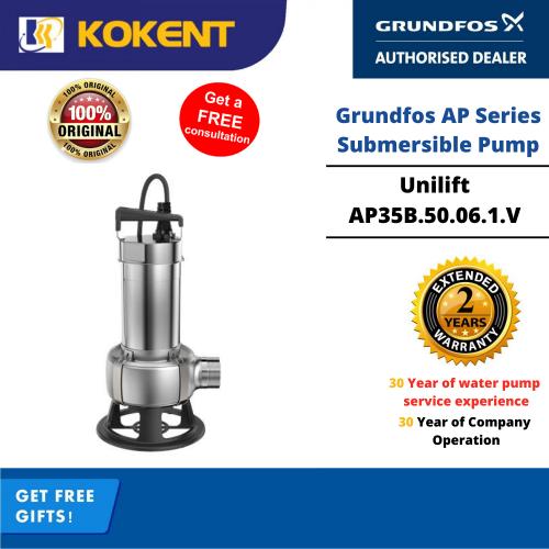 Grundfos Unilift AP35B.50.06.1.V Manual Submersible Pump