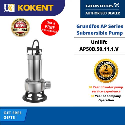 Grundfos Unilift AP50B.50.11.1.V Manual Submersible Pump