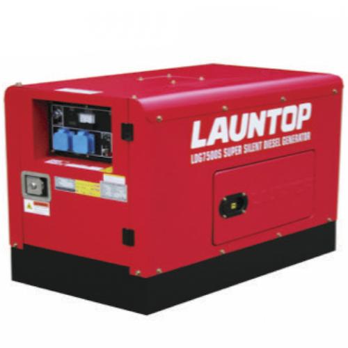 Launtop Diesel Silent Generator 7.5kW 9HP 25L 160kg LDG7500S-3