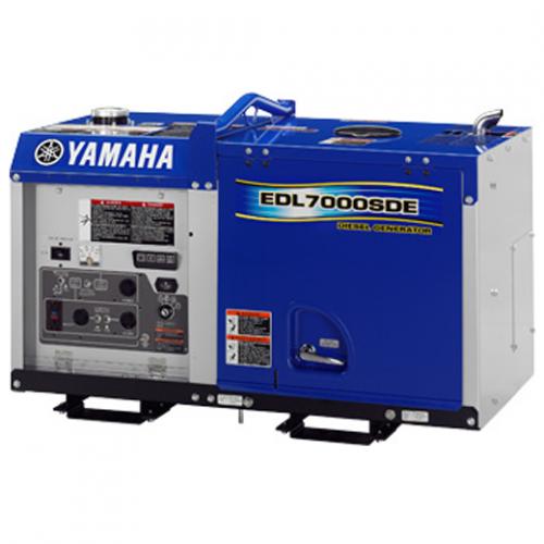 Yamaha Diesel Soundproof Generator 5.5kVA, 235kg EDL7000SE