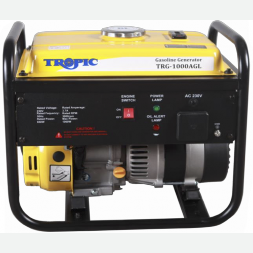 Tropic Petrol Generator 1000W, 98CC, 6L, 32kg TRG-1000AGL