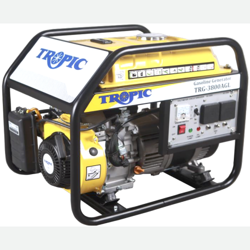 Tropic Petrol Generator 3800W, 223CC, 15L, 54kg TRG-3800AGL