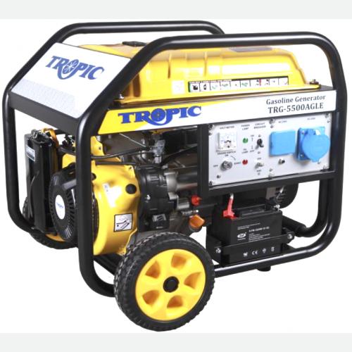 Tropic Petrol Generator 5500W, 389CC, 25L, 85kg TRG-5500AGLE