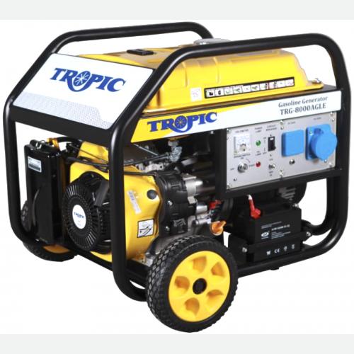 Tropic Petrol Generator 8000W, 459CC, 25L, 98kg TRG-8000AGLE