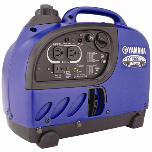 Yamaha Soundproof Inverter 900W, 57dB, 2.5L Tank, 13kg EF1000iS