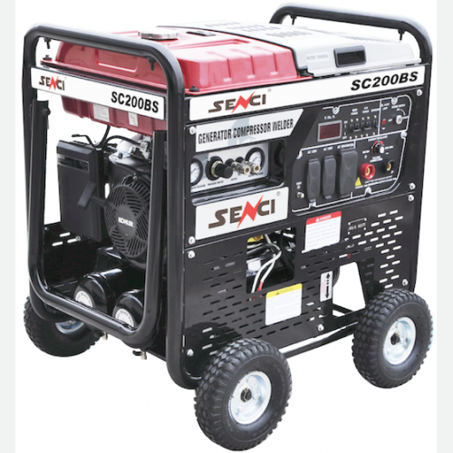 Senci Gasoline 3in1 Generator, Air Compressor, Welder SC200BS