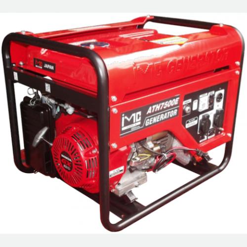 IMC Honda Engine Generator GX390 5.0kVA 25L 80kg ATH7500E