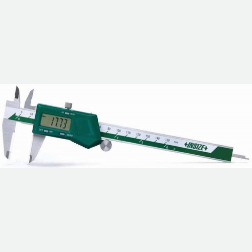 INSIZE Digital Caliper Ceramic Tipped Jaws 0-300mm(12