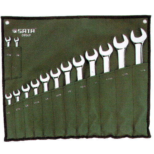 SATA Combination Wrench Set 14pc, 3/8