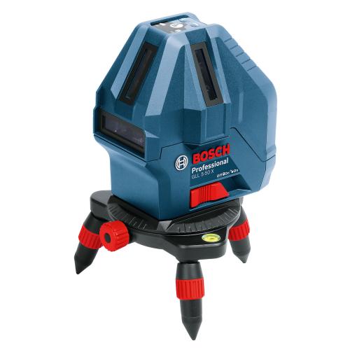 Bosch Laser Line Level 4V 1H 1P, Working Range 15m GLL5-50X