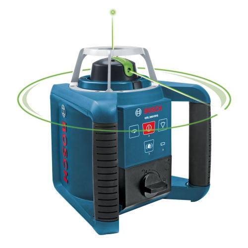 Bosch Self Levelling Rotation Laser with Green Light GRL300HVG