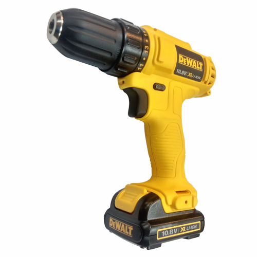 Dewalt Cordless Drill 10.8V, 3/8, 0-1500rpm, 24Nm, 3kg DCD700C2