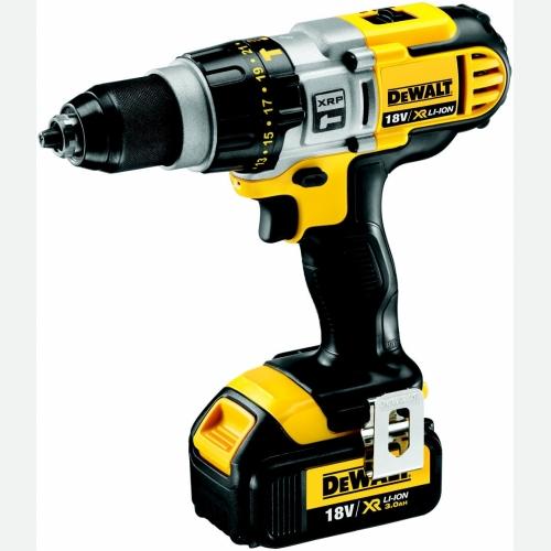 Dewalt Cordless Impact Drill 18V, 13mm, 0-2000rpm, DCD985L2