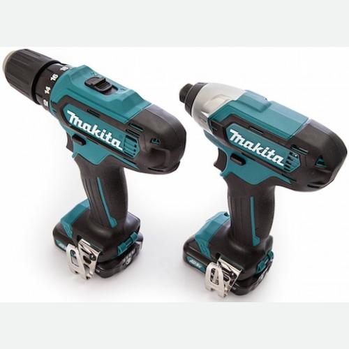 Makita Cordless Drill & Impact Driver 12V DF331D + TD110D CLX201