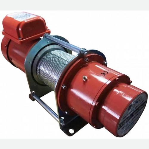 DUKE Winch 350kg, 7mmx30m, 15m/min, 1Ø, 1.1kW, 42kg DU-208S