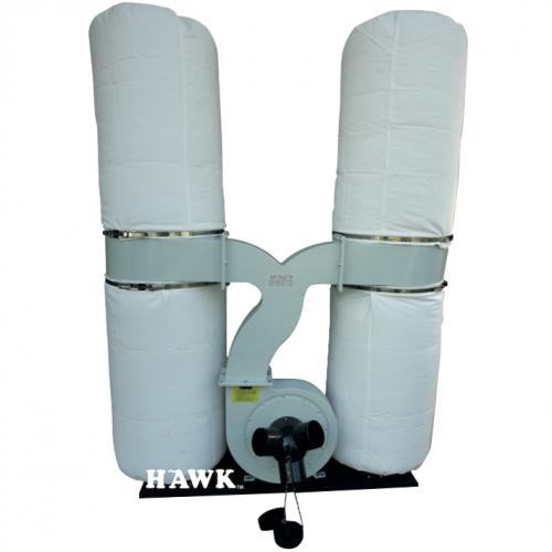 HAWK Dust Collector 2200W, 100mm, 65090L/min, 64kg FM300T