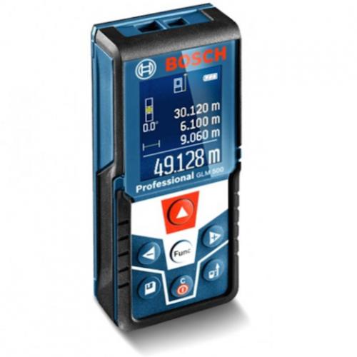 Bosch Laser Rangefinder 50meters with Illuminated Display GLM500