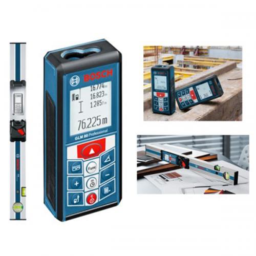 Bosch Laser Rangefinder With Inclinometer Function 80M GLM80+R60