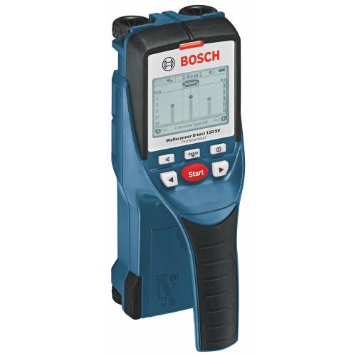 Bosch Multi Material Wall Scanner Depth:150mm,0.65kg D-tect150SV