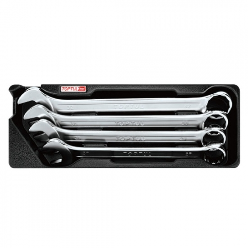 4PCS - 15° Offset Pro-Line Combination Wrench Set