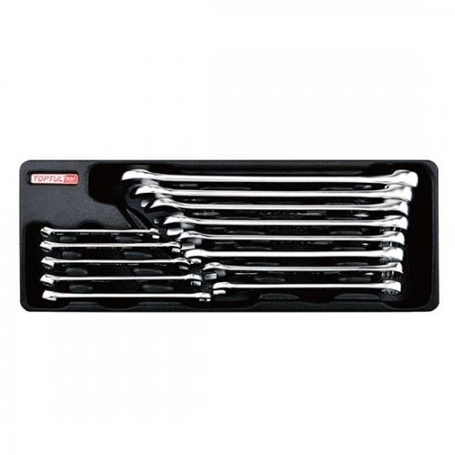 13PCS - 15° Offset Hi-Performance Combination Wrench Set (SAE)