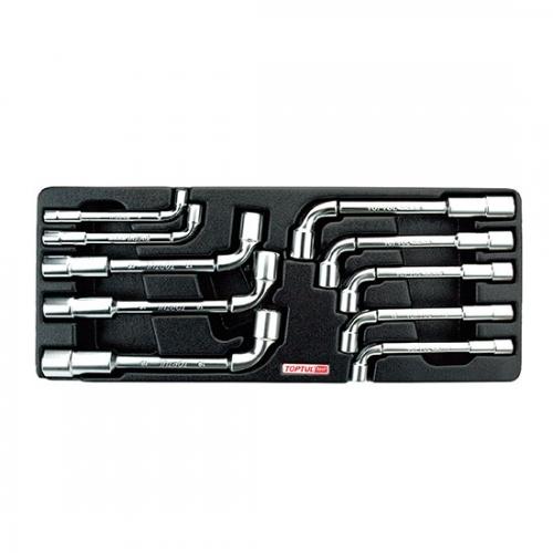 10PCS - Angled Socket Wrench Set