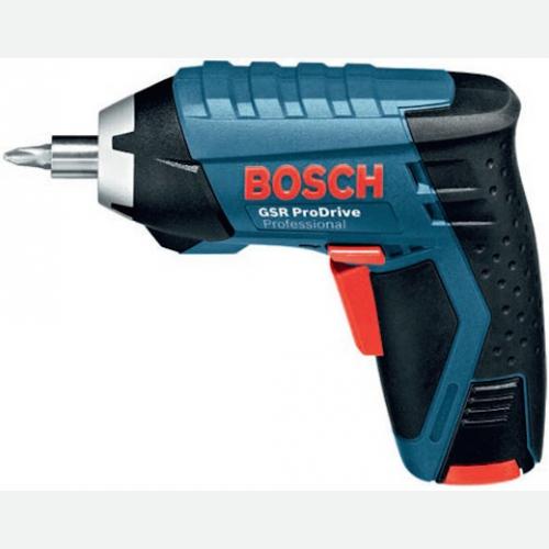 Bosch Cordless Screwdriver 7Nm 3.6V 250rpm 0.5kg GSR3.6V-LiPro