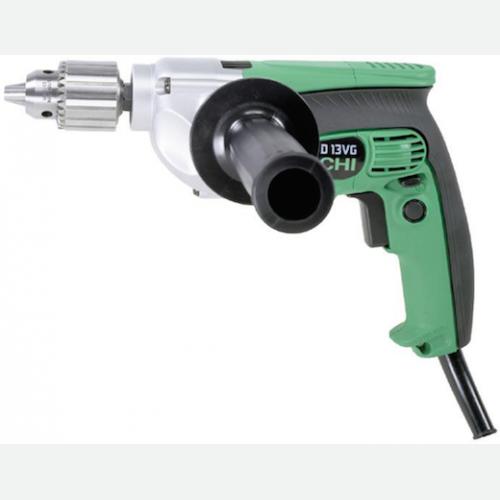 Hitachi High Torque Hand Drill 13mm, 710W, 600rpm, 2.1kg D13VG
