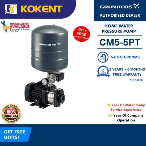 Grundfos  Water Booster Pump CM5-5PT (CMB5-46PT)
