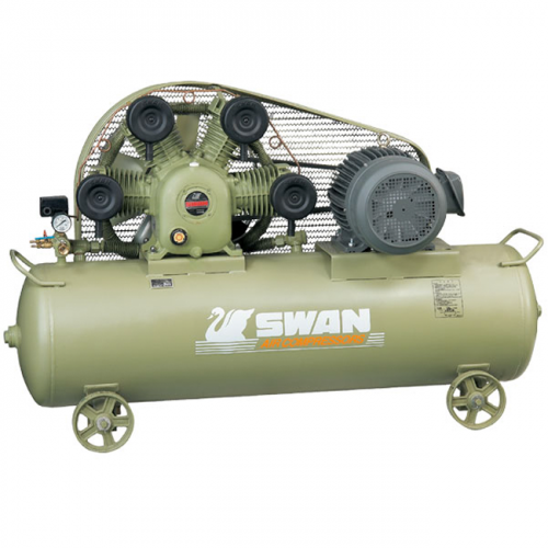 Swan Air Compressor 8Bar, 15HP, 850rpm, 1480L/min, 275kg SWP-415
