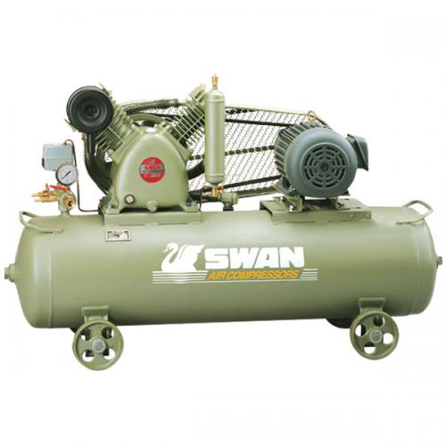 Swan Air Compressor 12Bar 3Hp 960rpm 270L/min 205kg HVP-203(1)