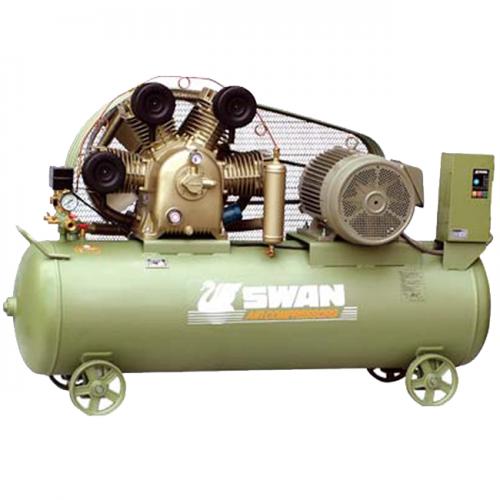 Swan Air Compressor 12Bar 15Hp 850rpm 1120L/min 350kg HWU-415N