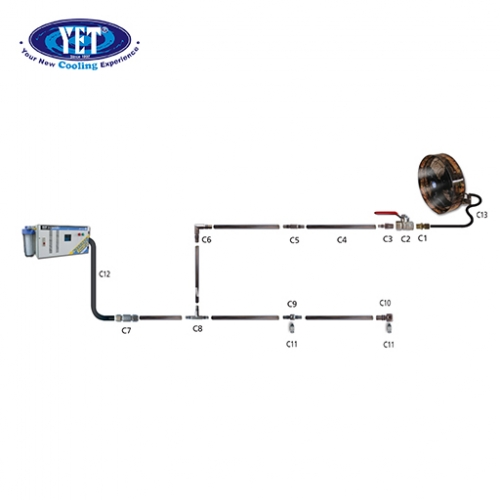 YET SS304  STAINLESS STEEL FITTING & TUBING