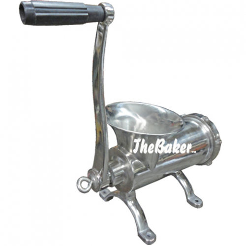 The Baker Manual Meat Mincer, Stainless Steel M32S
