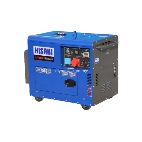 Hisaki Diesel Henerator JM7500T3/188FAE (3 Phase )