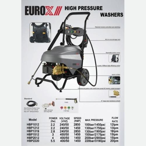 EUROX high pressure washer SERIES
