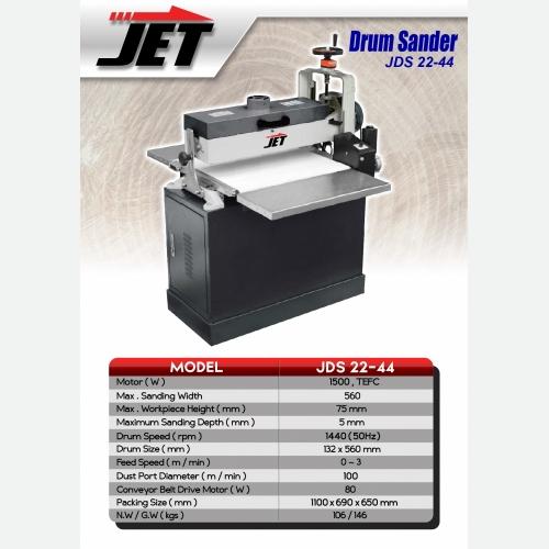 EUROX JDS22 44 (new)L DRUM SANDER