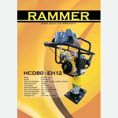 Rammer HCD80-EH12