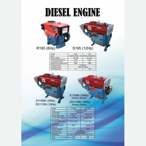 FEILO-170.178.186 DIESEL ENGINE