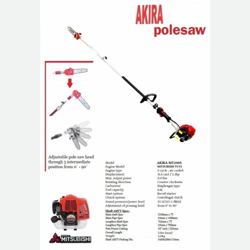 AKIRA MTS290S-TU33 POLE SAW