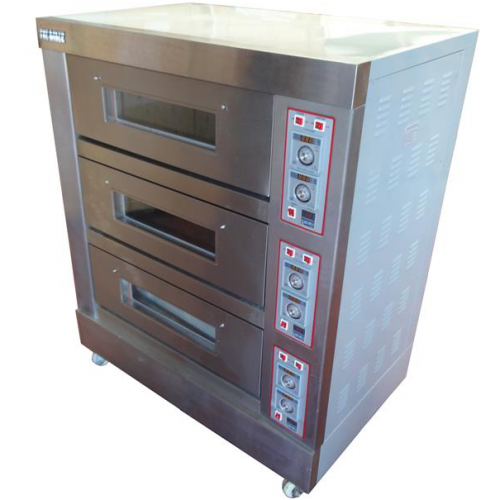 Baker Electric Oven 18kW, 3Layer, 6tray, 193kg YXD-60