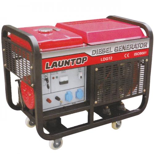 Launtop Diesel Generator 10000kW, 20hp, 25L, 170kg LDG12E