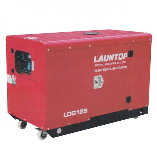 Launtop Diesel Generator 10000kW, 20hp, 53L, 295kg LDG12S