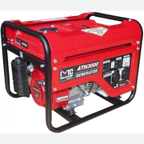 IMC Honda Engine Generator GX160 2.0kVA 15L 47kg ATH3000